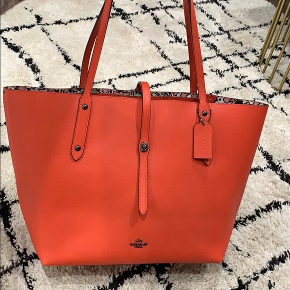 7396862ad58 Coach Bags | Market Tote In Jasper Color | Poshmark